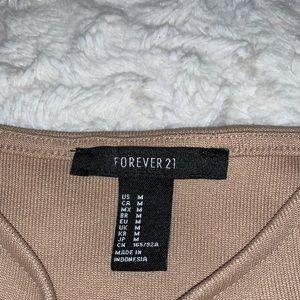Forever 21 Dresses - Forever 21 tan pencil dress